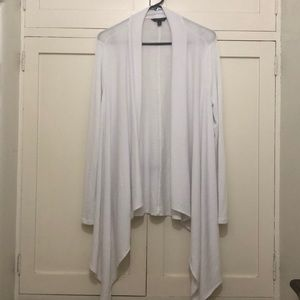 Banana Republic long white cardigan